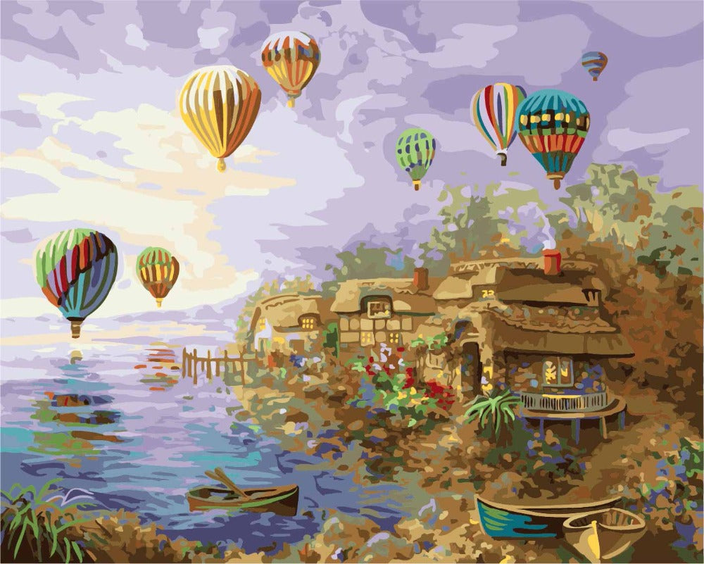Balloons Holiday Vinci™ Paint-By-Number Kit