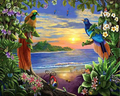 Birds in Paradise - Vinci Paint-By-Number Kit