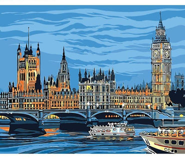 London River Vinci™ Paint-By-Number Kit