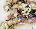 Crow and Flowers - Vinci Paint-By-Number Kit