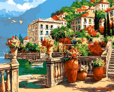 European Village Vinci™ Paint-By-Number Kit