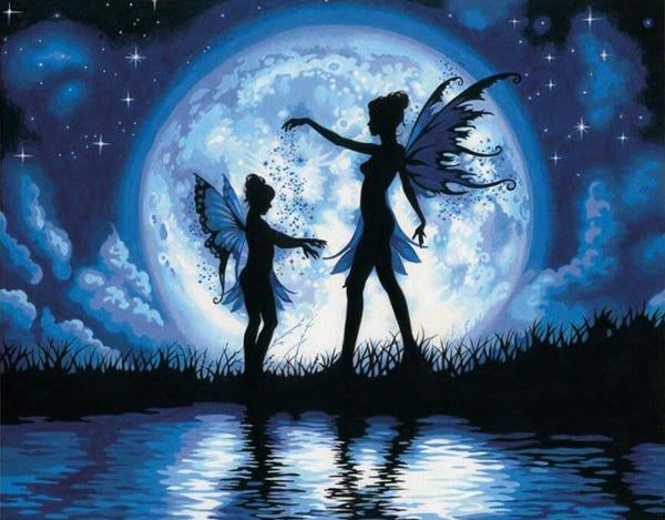 Fairy Night Dance - Vinci Paint-By-Number Kit