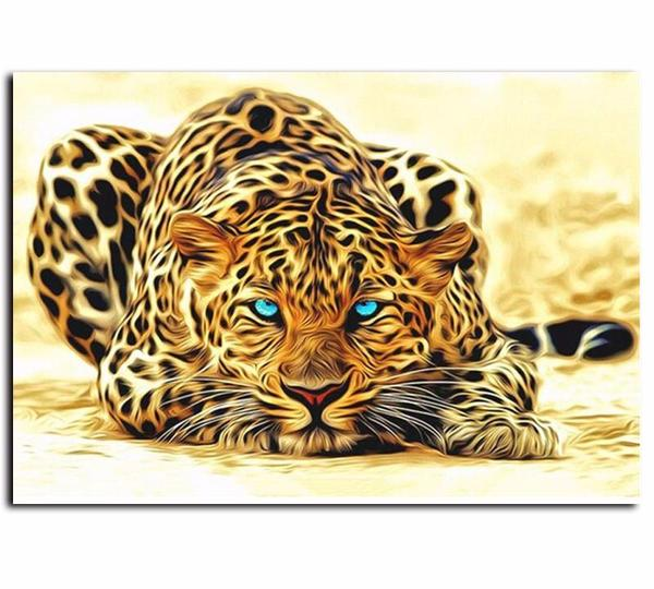 Leopard Vinci™ Paint-By-Number Kit