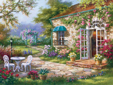 Garden of Calm Vinci™ Paint-By-Number Kit