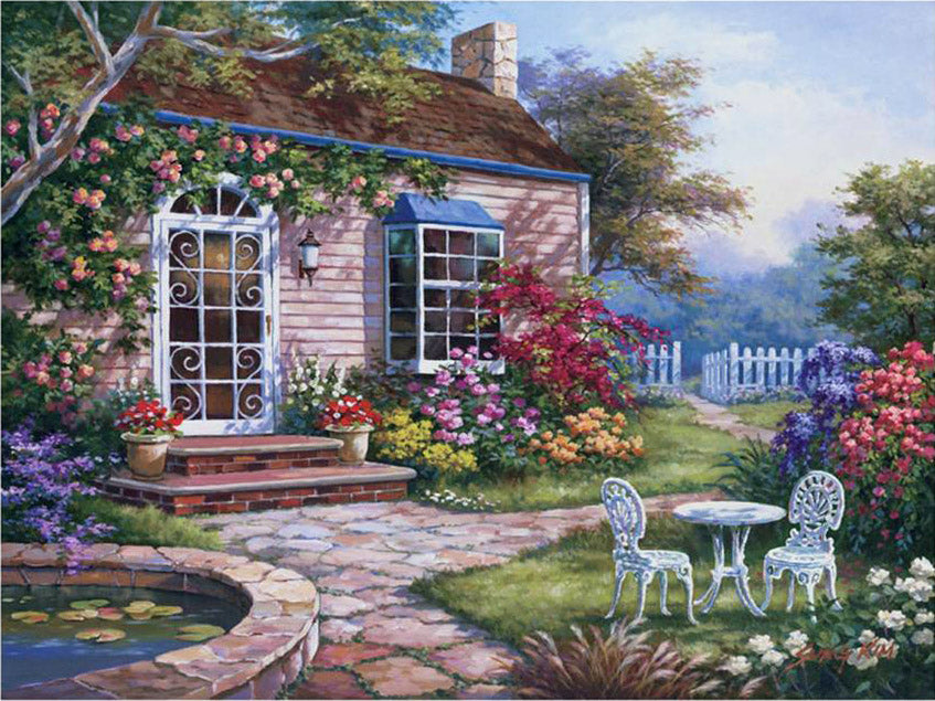 Garden of Love Vinci™ Paint-By-Number Kit
