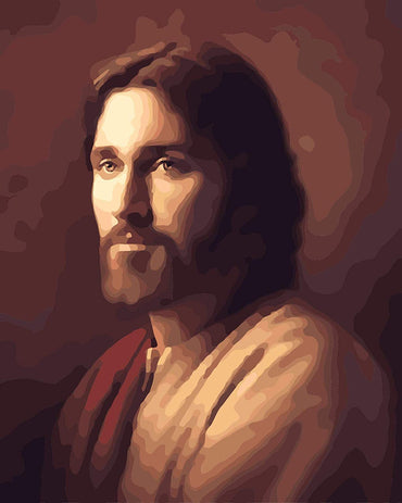 Jesus Portrait - Vinci Paint-By-Number Kit