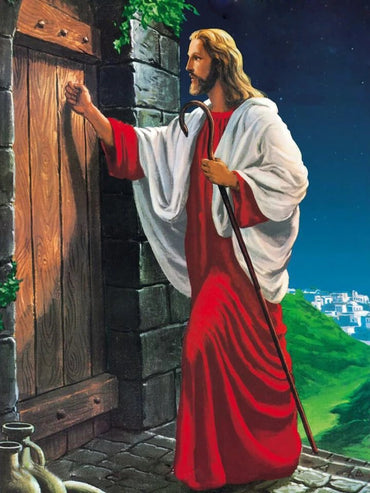 Jesus is Knocking Vinci™ Paint-By-Number Kit