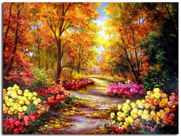 Enchanted Forest - Vinci™ Paint-By-Number Kit