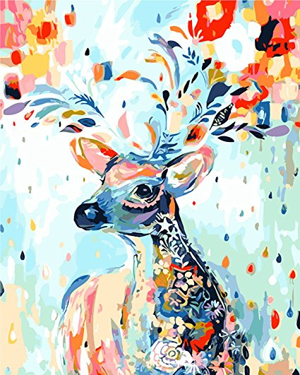 Mindful Deer Vinci™ Paint-By-Number Kit