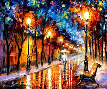 Night Park Europe - Vinci™ Paint-By-Number Kit