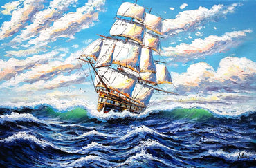 Ship of Courage Vinci™ Paint-By-Number Kit