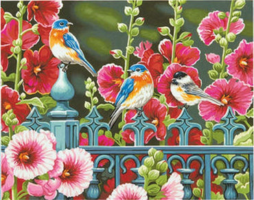 Singing Birds - Vinci Paint-By-Number Kit