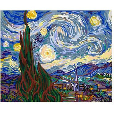 Starry Night Vinci™ Paint-By-Number Kit