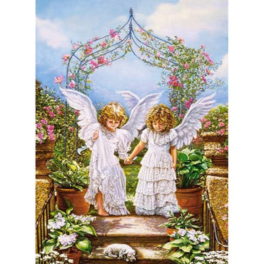 Twin Angel - Vinci Paint-By-Number Kit