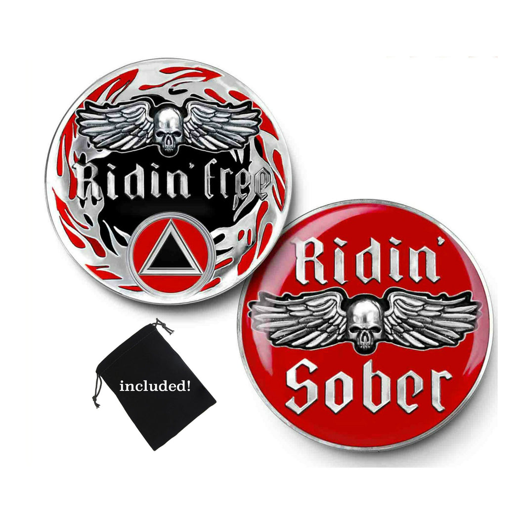sobriety coin