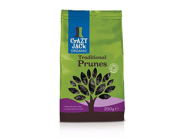 Crazy Jack Ready To Eat - Prunes - 250g