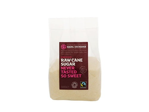 Equal Exchange Raw Cane Sugar - Unrefined - 500g