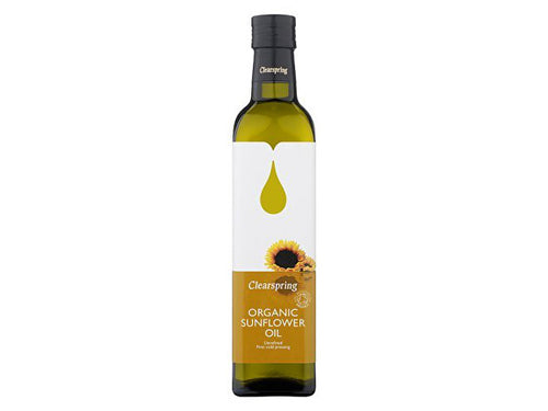 Clearspring Sunflower Oil - Organic - 500ml
