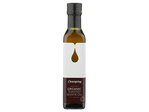 Clearspring Toasted Sesame Oil - Organic - 250ml