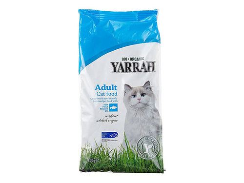 Yarrah Adult Cat Food With - Fish - 800g