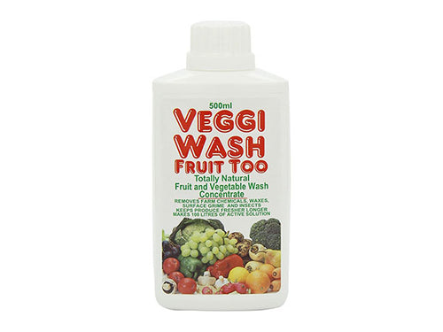 Food Safe Veggie Wash - Concentrated - 500ml