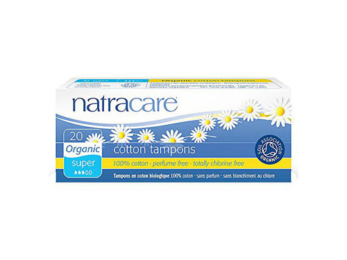 Natracare Tampons Super - Organic - 20s