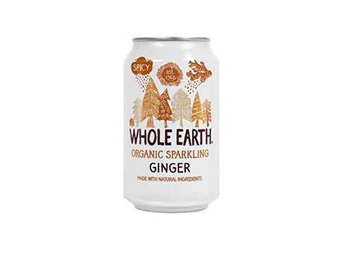 Whole Earth Ginger - 330ml x 24