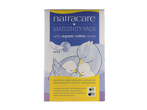 Natracare New Mother Maternity Pads - Organic - 10s