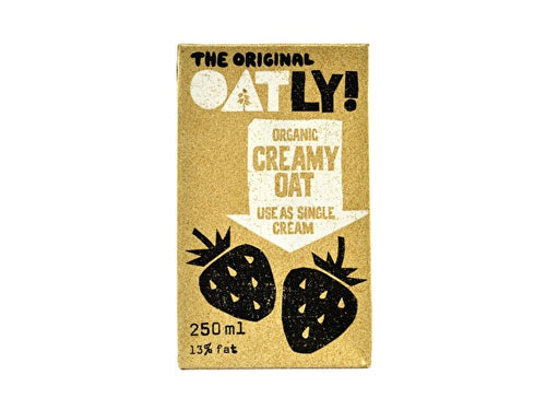 Oatly Cream Drink - Organic - 250ml x 18