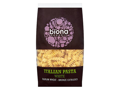 Biona White Fusilli - Bronze Extruded - 500g