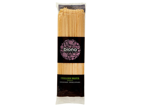 Biona White Spaghetti - Bronze Extruded - 500g