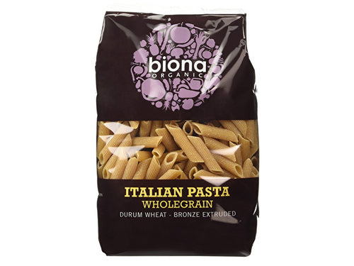 Biona Wholegrain Penne - Bronze Extruded - 500g