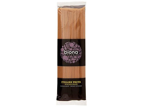 Biona Wholewheat Spaghetti - Bronze Extruded - 500g