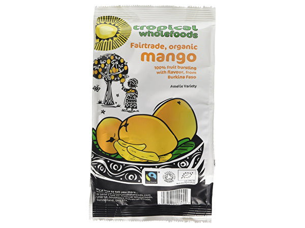 Tropical Wholefoods Mango - Organic - 100g