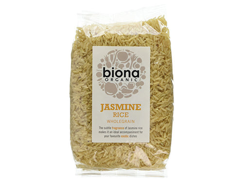Biona Jasmine Brown Rice - 500g