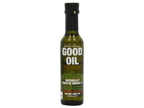 Good Oil Original Cold Pressed Hemp Seed Oil - 250ml
