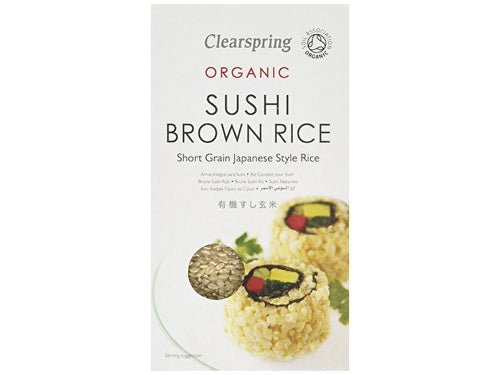 Clearspring Sushi Brown Rice - 500g