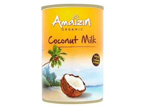 Amaizin Rich Organic Coconut Milk - 400ml