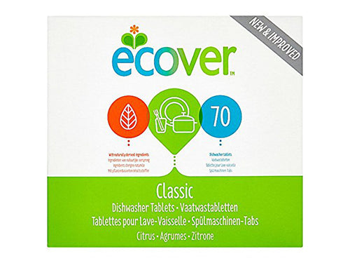 Ecover Dishwasher Tablets - 70 Washes - 1.4kg
