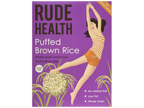 Rude Health Puffed Brown Rice - 225g