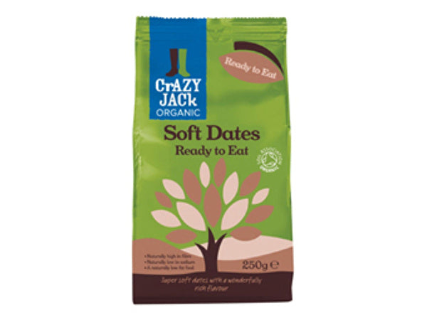 Crazy Jack Ready To Eat - Soft Dried Dates - 250g
