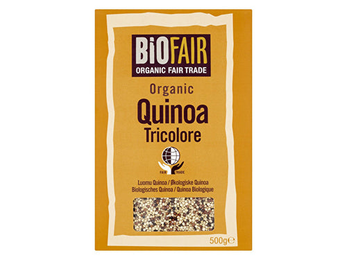 Biofair Tricolore Quinoa Grain - Fairtrade - 500g