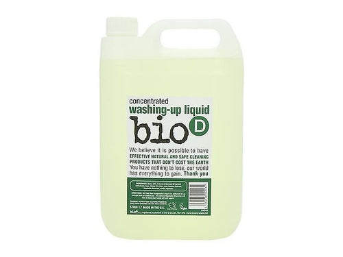 Bio-D Washing Up Liquid - 5Ltr