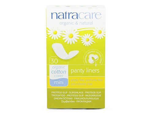 Natracare Mini Panty Liners - 30s