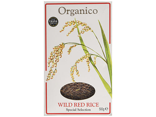 Organico Organic Wild Red Rice - Wholegrain - 500g