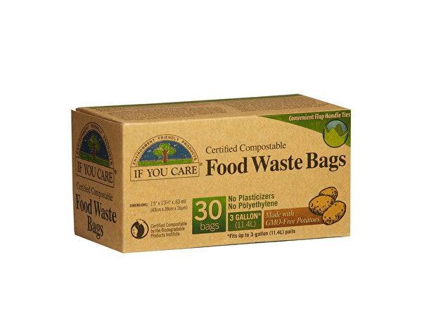 If You Care Kitchen Caddy Bags - (Food Waste Bags) - 30 Bags