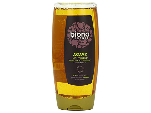 Biona Light Agave Syrup - 500ml