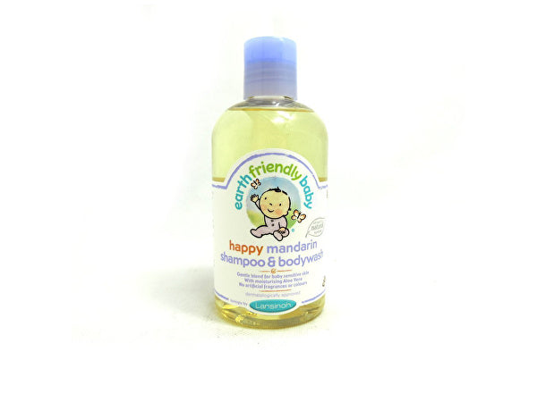 Earth Friendly Baby Happy Mandarin Shampoo & Body Wash - 250ml