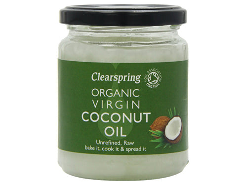 Clearspring Virgin Coconut Oil - Organic - 200g