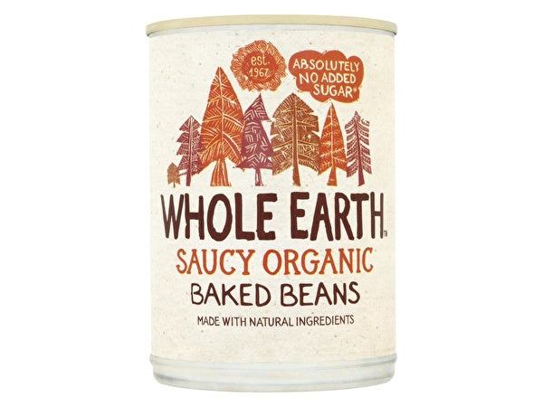 Whole Earth Baked Beans - 400g x 12